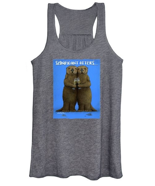 Significant Otters... Women's Tank Top