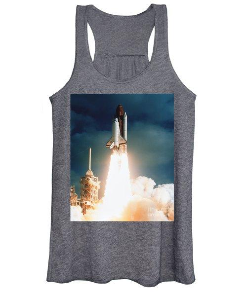 Space Shuttle Launch Women's Tank Top
