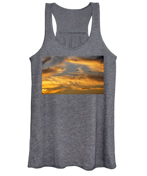 Sunset Flight Women's Tank Top