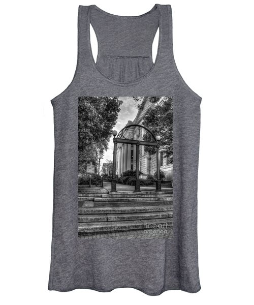 The Arch 5 University Of Georgia Arch Art Women's Tank Top