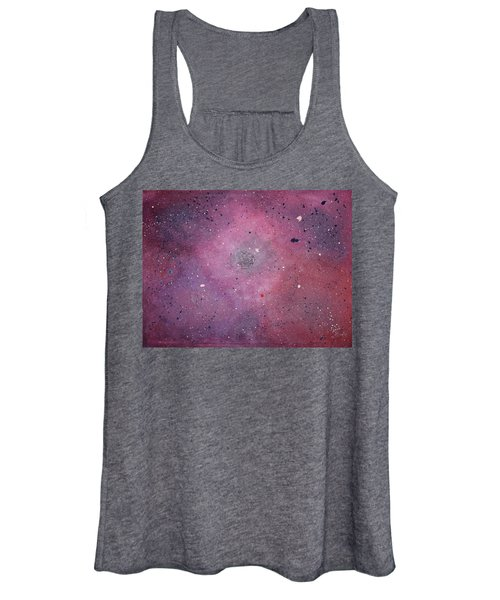 Women's Tank Top featuring the painting the Calm by Michael Lucarelli