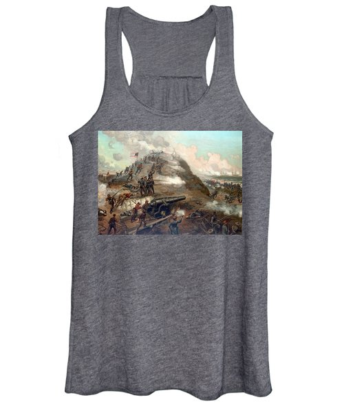 The Capture Of Fort Fisher Women's Tank Top