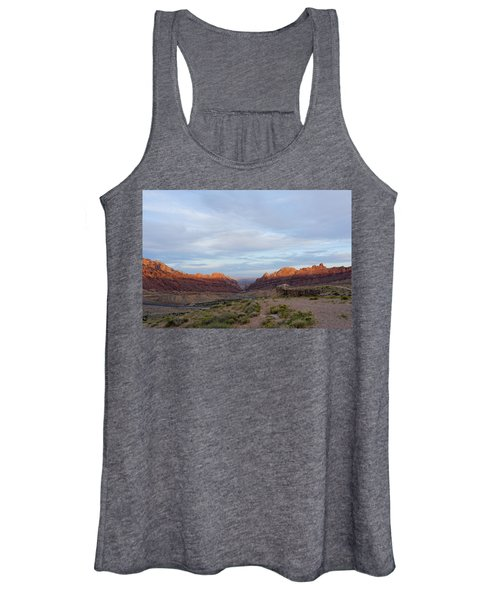 The Castles Near Green River Utah Women's Tank Top