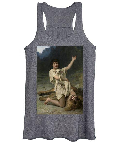 The Shepherd David Triumphant Women's Tank Top