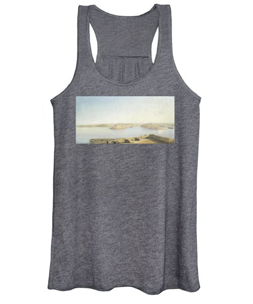 The Three Cities And The Grand Harbour Women's Tank Top