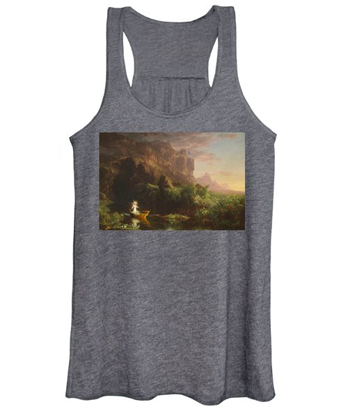 The Voyage Of Life, Childhood Women's Tank Top