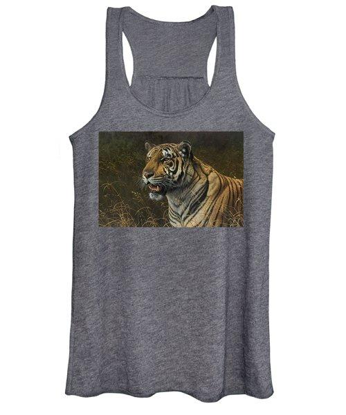 Tiger Portrait Women's Tank Top