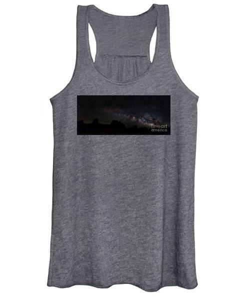 Trona Pinnacles Milky Way Women's Tank Top