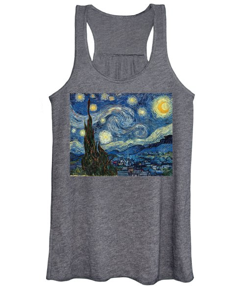 Van Gogh Starry Night Women's Tank Top