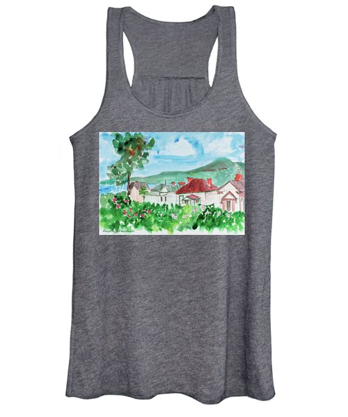 View From Battery Point Women's Tank Top