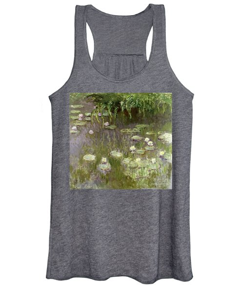 Waterlilies At Midday Women's Tank Top