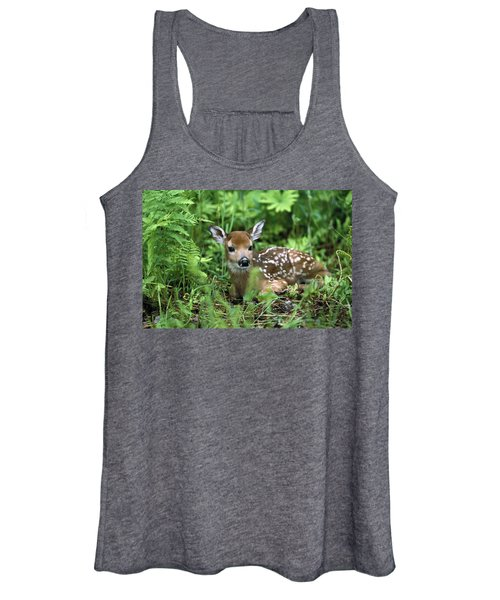 White-tailed Deer Odocoileus Women's Tank Top