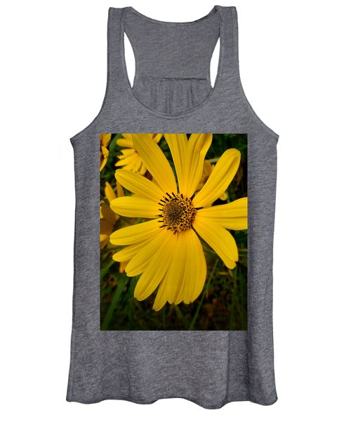 Wild Yellow Women's Tank Top