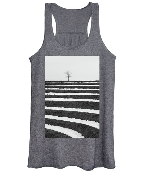 Winter Blues Women's Tank Top