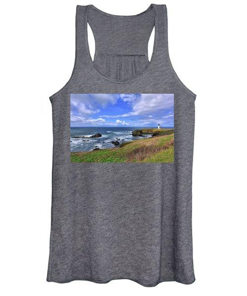 Yaquina Head Lighthouse Women's Tank Top