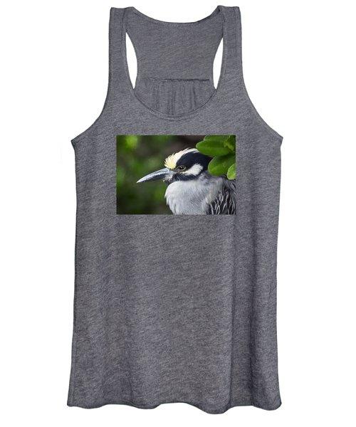Yellow-crowned Night Heron Women's Tank Top