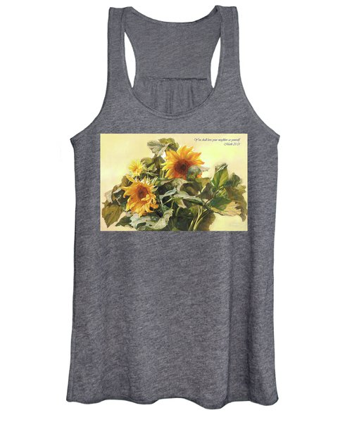 You Shall Love Your Neighbor As Yourself  Women's Tank Top