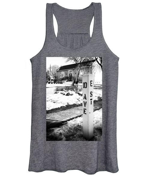10 Ave And E St Belmar New Jersey Women's Tank Top