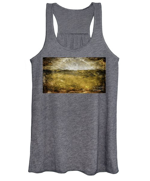 10b Abstract Expressionism Digital Painting Women's Tank Top
