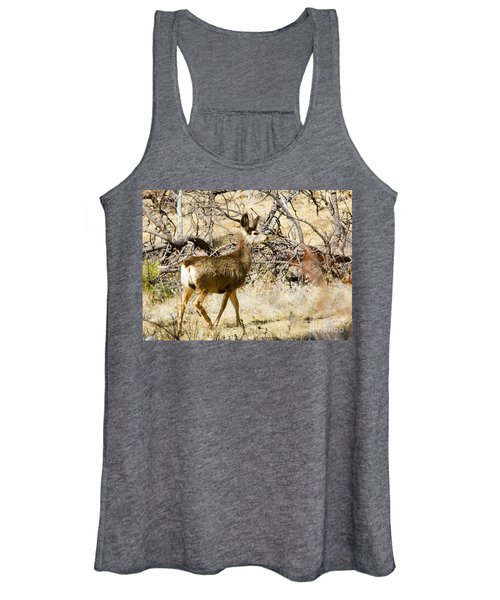 Mule Deer In The Pike National Forest Women's Tank Top