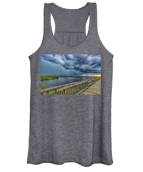 Women's Tank Top featuring the photograph Storm Watch by Pete Federico
