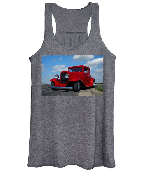 1930 Chevrolet Coupe Hot Rod Women's Tank Top