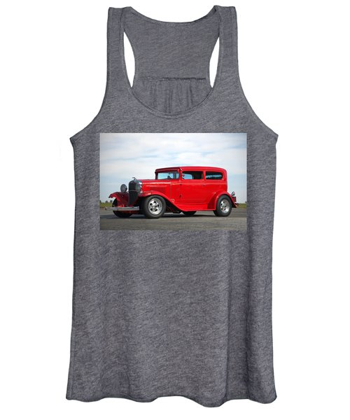 1930 Chevrolet Sedan Women's Tank Top