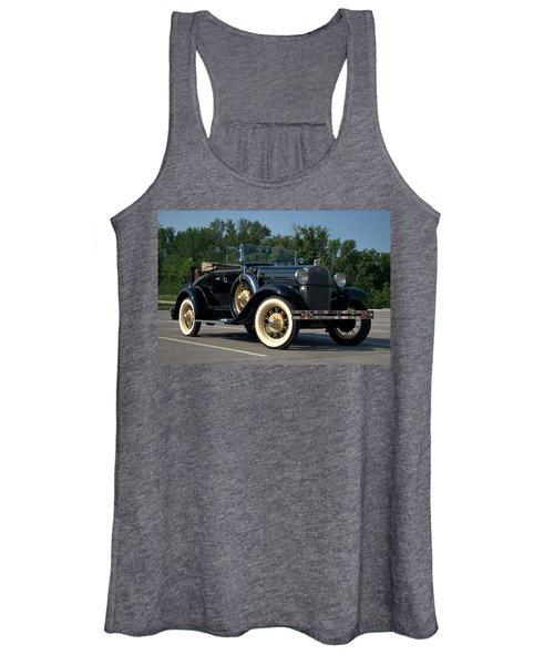 1931 Ford Model A Roadster Women's Tank Top