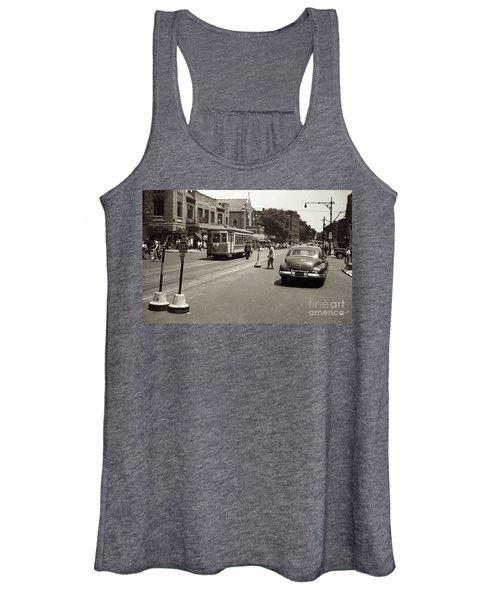 1940's Inwood Trolley Women's Tank Top