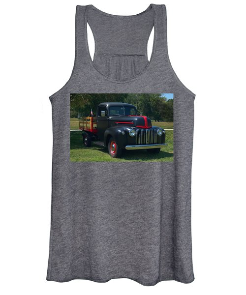 1946 Ford Stake Side Truck Women's Tank Top