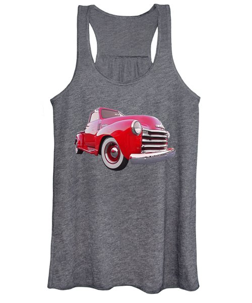 1950 Chevy Pick Up At Sunset Women's Tank Top