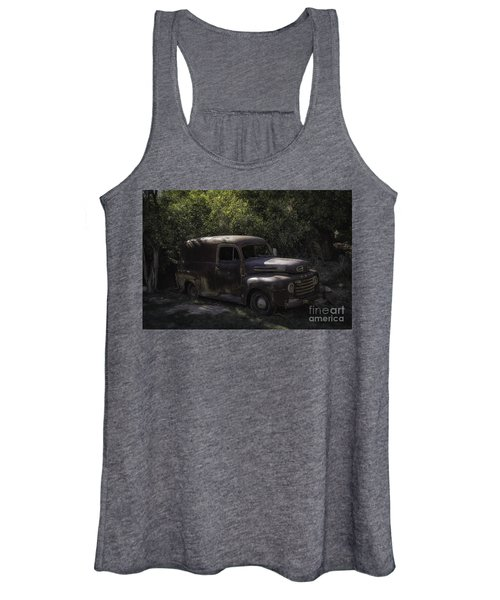 1950 Ford Panel Truck  Women's Tank Top