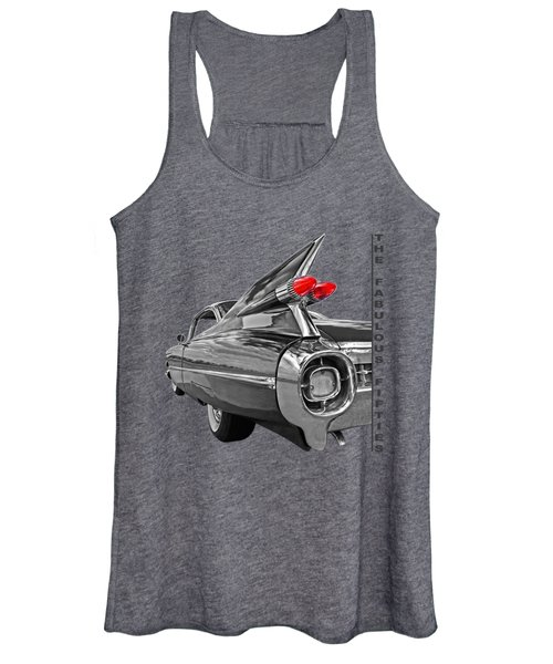 1959 Cadillac Tail Fins Women's Tank Top