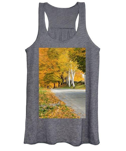 Autumn Road Women's Tank Top