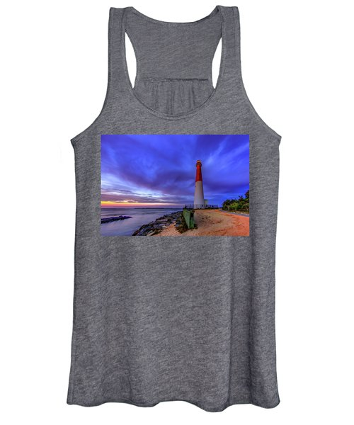 Women's Tank Top featuring the photograph Barnegat Lighthouse by Pete Federico