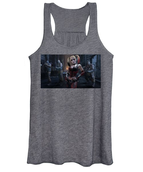 Batman Arkham City Women's Tank Top