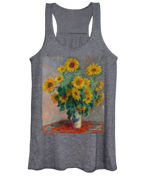 Bouquet Of Sunflowers Women's Tank Top