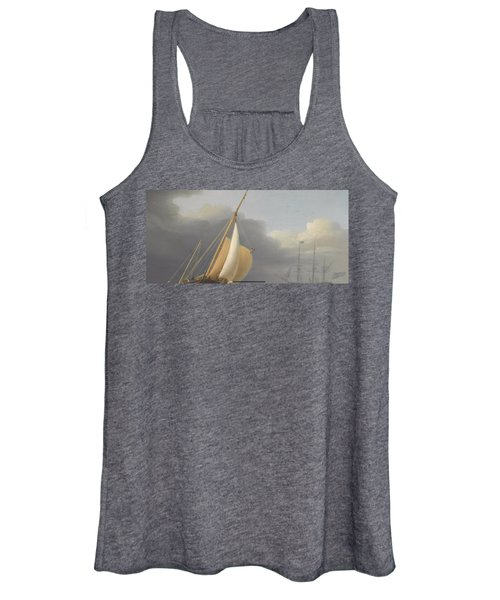 Coastal Shipping In Rough Seas Women's Tank Top