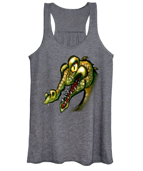 Crocodile Women's Tank Top