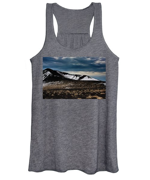 Etna, Red Mount Crater Women's Tank Top