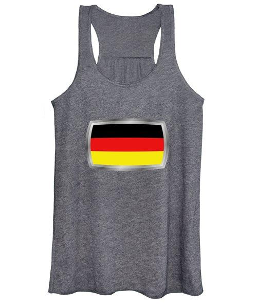 Germany Flag Women's Tank Top