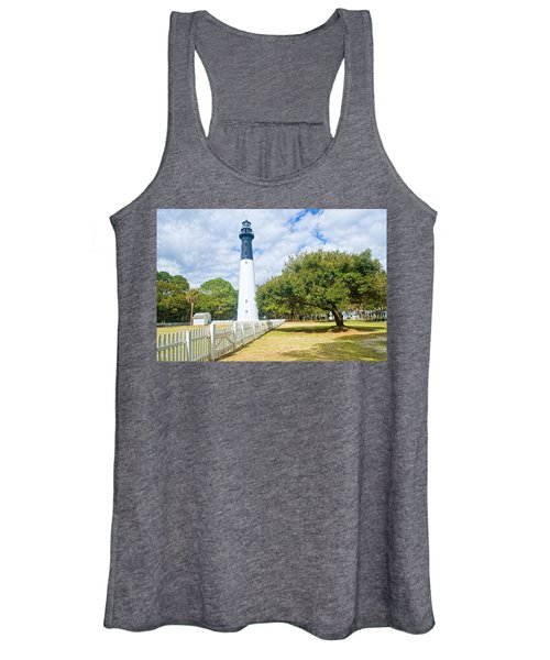 Hunting Island Lighthouse Women's Tank Top