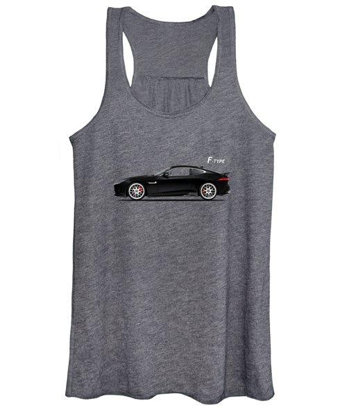 Jaguar F Type Women's Tank Top