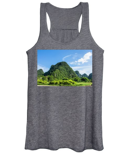 Karst Mountains Scenery Women's Tank Top