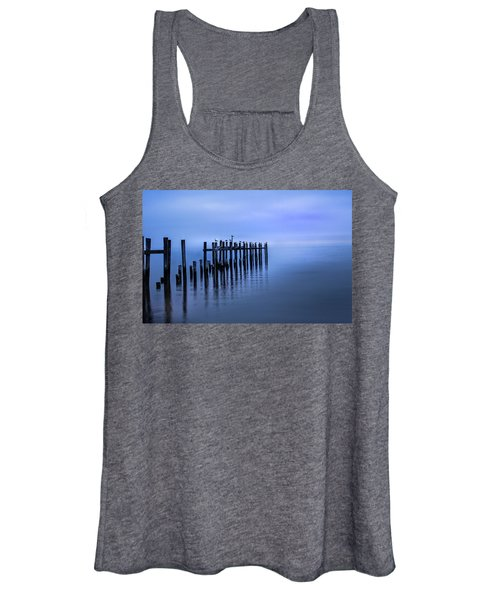 Colorful Overcast At Twilight Women's Tank Top