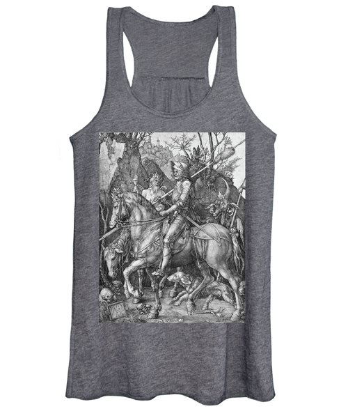 Knight Death And The Devil Women's Tank Top