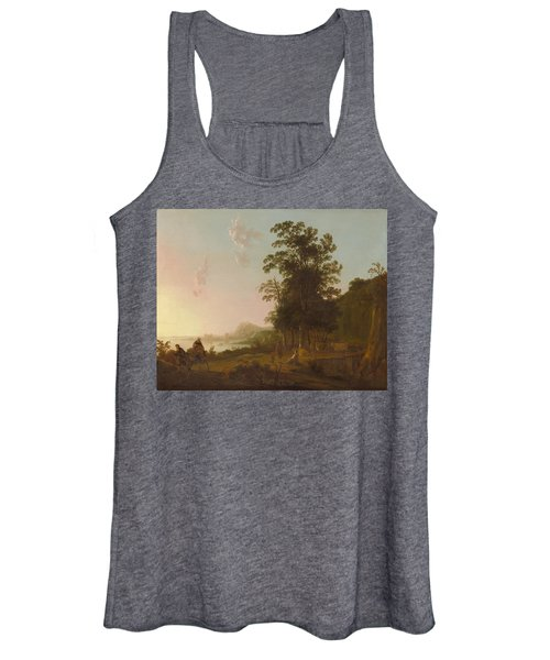 Landscape With The Flight Into Egypt Women's Tank Top