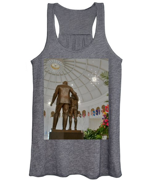 Milton Hershey And The Boy Women's Tank Top