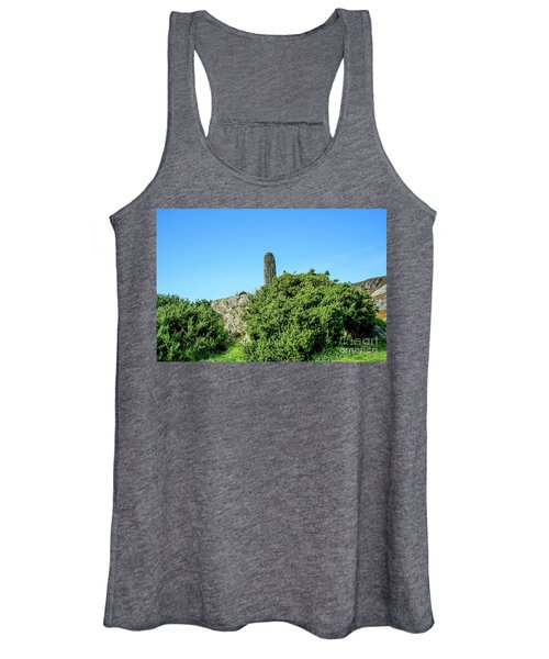 Stands Outside Women's Tank Top