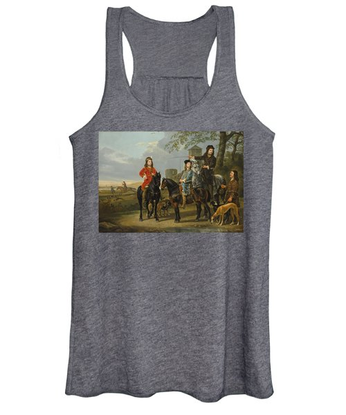 Starting For The Hunt Women's Tank Top
